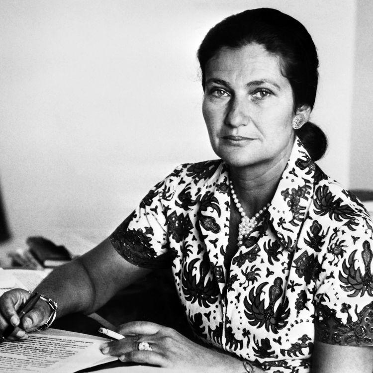 La ministre de la Santé Simone Veil, dans les années 70. (- / AFP)