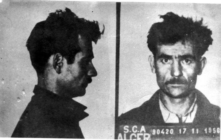 Fernand Iveton après son arrestation en novembre 1956. (Photo12)