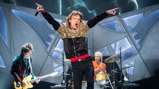 Le blues, l'ADN des Rolling Stones (ici en concert à Las Vegas en octobre 2016).  (MediaPunch/Shutterstock/SIPA)