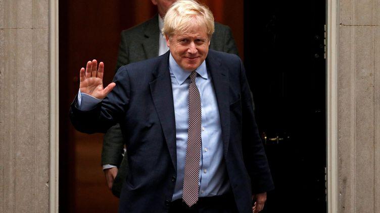 Le Premier ministre britannique Boris Johnson, à Londres, jeudi 24 octobre 2019. (ADRIAN DENNIS / AFP)