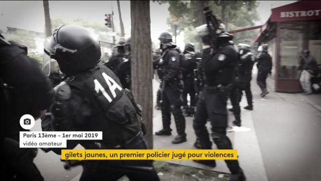 """""""Gilets jaunes"""" : un policier jugé pour violences volontaires"""
