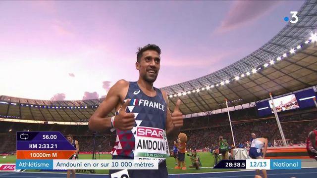 Athlétisme : Amdouni en or sur 10 000 mètres