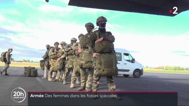 Armée : des femmes au sein des forces spéciales