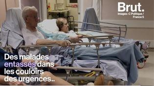 L'anesthésiste Jean Létoquart est venu manifester à Lille pour dénoncer la dégradation du service public de santé. Il n'est pas le seul à s'indigner. (BRUT)