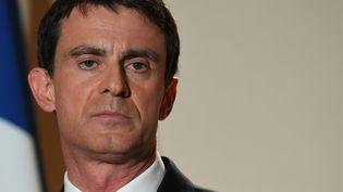 Manuel Valls, à Paris, le 29 janvier 2017. (ERIC FEFERBERG / AFP)