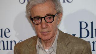 """Woody Allen, le 27 août 2013 à Paris, lors de la présentation de son dernier film """"Blue Jasmine"""". (THOMAS SAMSON / AFP)"""