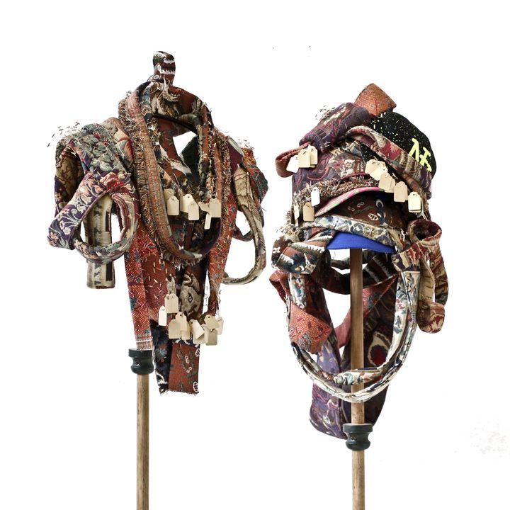 Création d'Anne-Laure Eustache pour l'expositionParures, objets d'art à porter au Musée La Manufacture Roubaix, du 7 septembre au 28 octobre 2019. (ANNE-LAURE EUSTACHE)