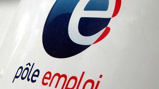 Le logo de Pôle emploi dans une agence de Denain, le 20 mai 2015. (CITIZENSIDE/THIERRY THOREL / AFP)