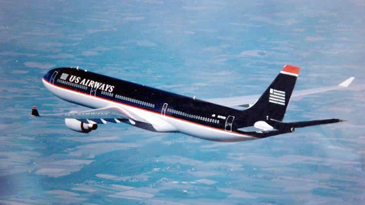 La passagère française a été arrêtée à sa descente de l'avion à l'aéroport de Bangor (Maine). (PASCAL PAVANI / AFP)