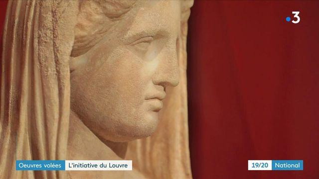 Musée du Louvre : des œuvres volées exposées pour sensibiliser au trafic