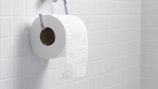 Le gouvernement japonais invite ses concitoyens à faire des réserves de papier toilette, en marge de la journée nationale des désastres, lundi 1er septembre 2014. (TEK IMAGE / ABO / AFP)