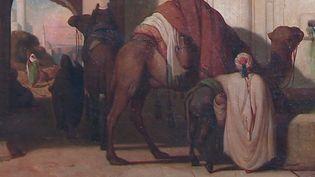 L'un des tableaux de l'exposition aux Beaux-Arts de Nîmes  (France 3 Culturebox capture d'écran)