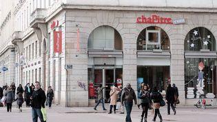 La librairie Chapitre de Lyon est menacée de fermeture  (PHOTOPQR/LE PROGRES/JOEL PHILIPPON)