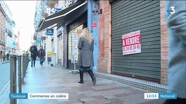 """Manifestations de """"gilets jaunes"""" : les commerçants toulousains en colère"""