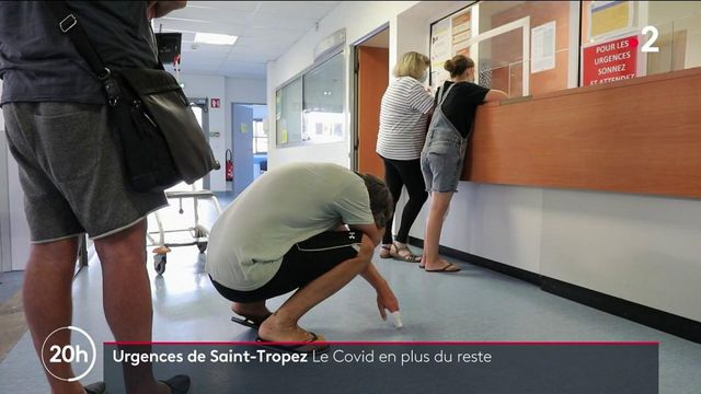Saint-Tropez : aux urgences, le Covid-19 s'ajoute aux accidents de vacances