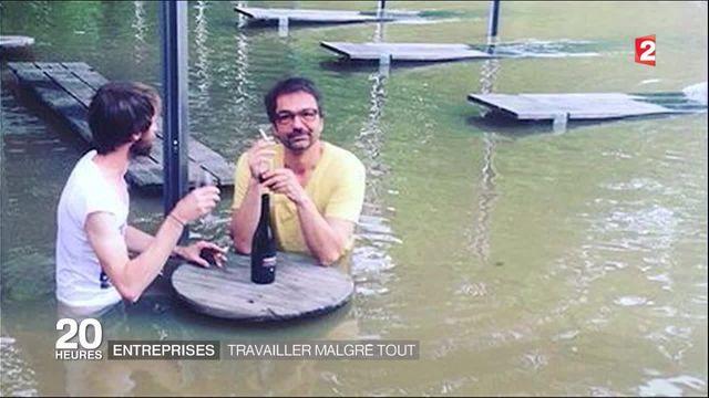 Entreprises : travailler malgré les dégâts provoqués par les inondations