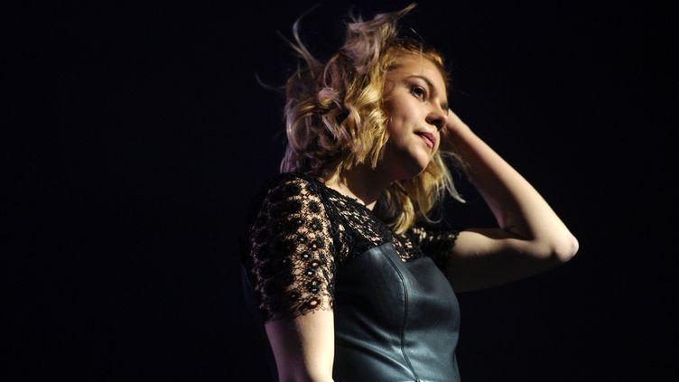 Louane en concert à Orléans le 16 mars dernier.  (C.Besseyre / Photopqr / République du Centre)