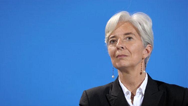 La ministre de l'Economie, Christine Lagarde, se réjouit de voir la France ouverte aux investissements étrangers (AFP - ERIC PIERMONT)
