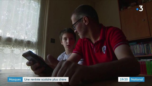 Masques à l'école : la question du budget inquiète des familles