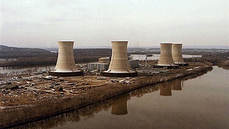 La centrale de Three Mile Island, victime d'un grave accident en 1979 (AFP)