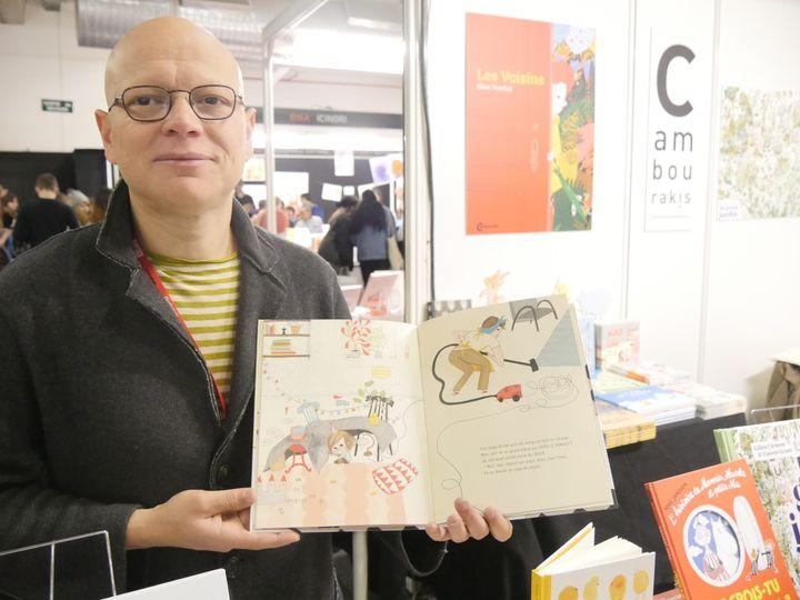 L'éditeur Frédéric Cambourakis  (Laurence Houot / Culturebox)
