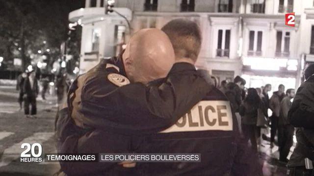 Attentats de Paris : les policiers en première ligne témoignent