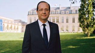 Photo officielle de François Hollande, président de la République  (Raymond Depardon)