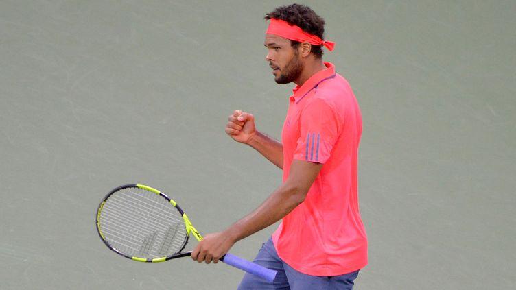 Le tennisman français Jo-Wilfried Tsonga.  (ALEX GOODLETT / GETTY IMAGES NORTH AMERICA)