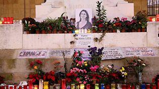 Un mémorial en hommage à la journaliste Daphne Caruana Galizia à Malte. (MAXPPP)