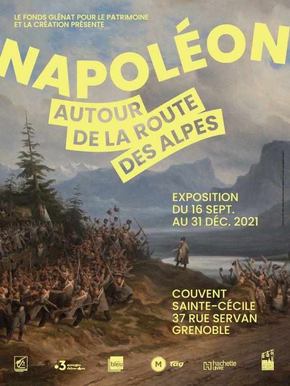 """""""Napoléon, autour de la route des Alpes"""" (DR / Fonds Glénat)"""