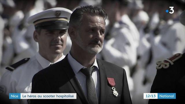 """Attentat de Nice : le """"héros au scooter"""" secouru par le Raid et hospitalisé"""