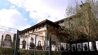"""""""Les gardiens"""" de la gare Lisch  (Capture d'écran France 3)"""