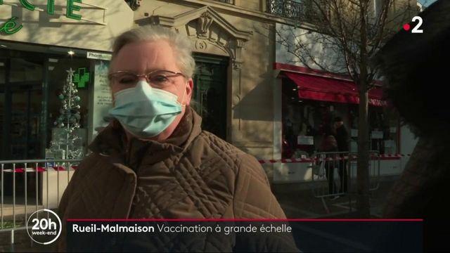 Rueil-Malmaison : un centre de vaccination déjà opérationnel