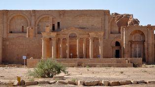 Temple hellénistique de Mrn dans la cité d'Hatra, en Irak (octobre 2010)  (Hubert Debbasch / AFP)
