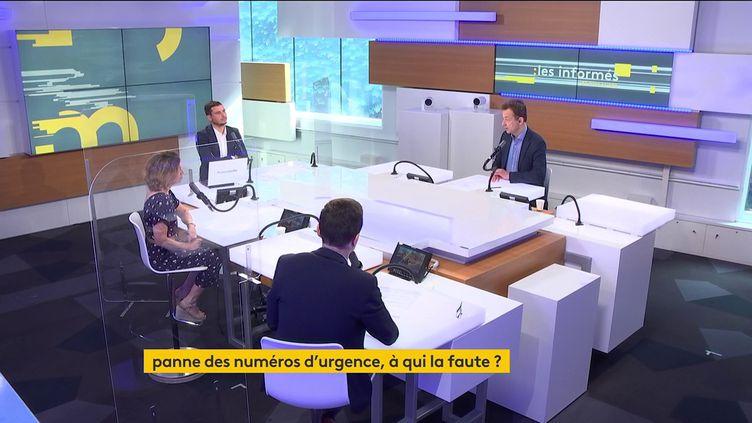 Le plateau des Informés du matin du 4 juin 2021. (FRANCEINFO / RADIO FRANCE)