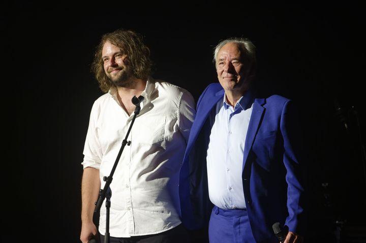 Arthur et Maxime Le Forestier en concert au Theatre du Vesinet dans le cadre du festival l'Estival. Le Vesinet, France- 28/09/2019 (SADAKA EDMOND/SIPA)