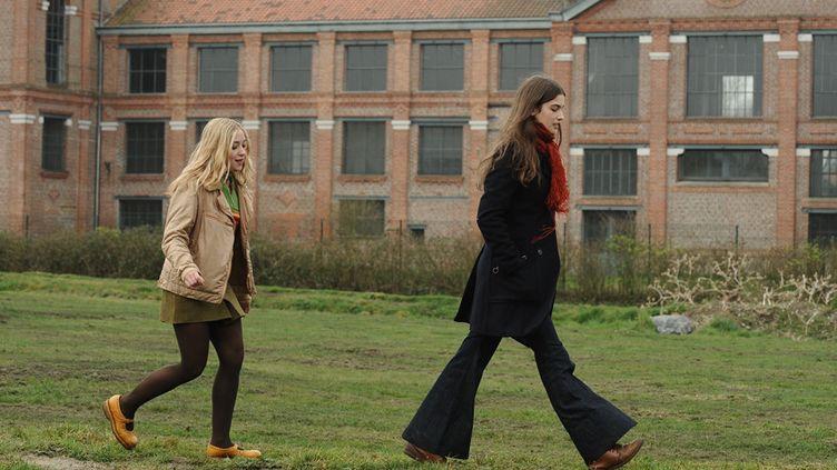 """Lily-Fleur Pointeaux (à gauche) et Alma Jodorowsky, deux des héroïnes de """"La vie devant elles""""  (Bernard Barbereau)"""