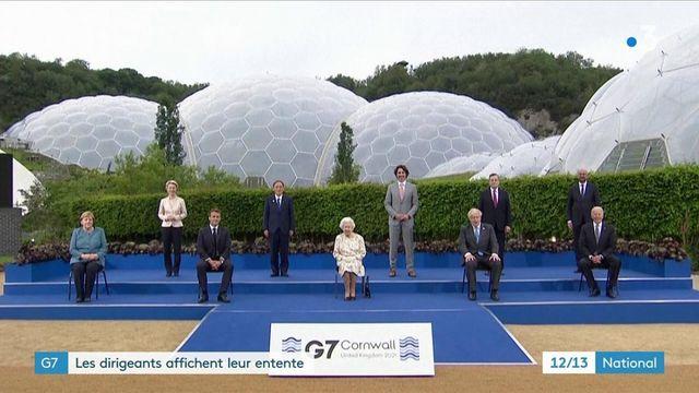 G7 : les dirigeants affichent leur entente