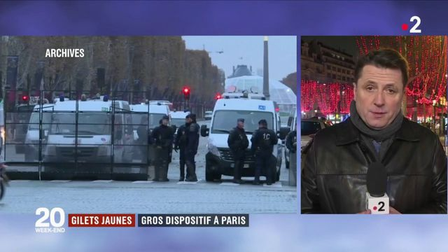 """Gilets jaunes"" : gros dispositif à Paris"