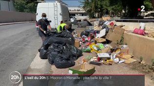 Marseille : les dessous d'un coup de balai dans la cité visitée par Emmanuel Macron (DR)