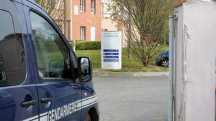 """L'Ehpad """"La Chêneraie"""", à Lherm (Haute-Garonne), le 1er avril 2019. (MAXPPP)"""