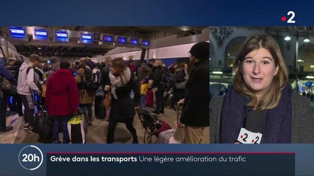 Grève des transports : une légère amélioration du trafic