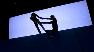 Le duo d'acrobates rend hommage à Fabrice Campion  (France Télévisions/Culturebox)