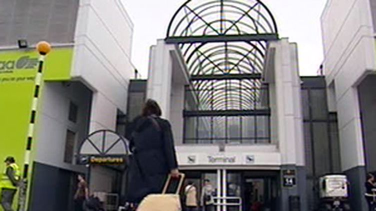 L'aéroport de Dublin (Irlande) (F3)