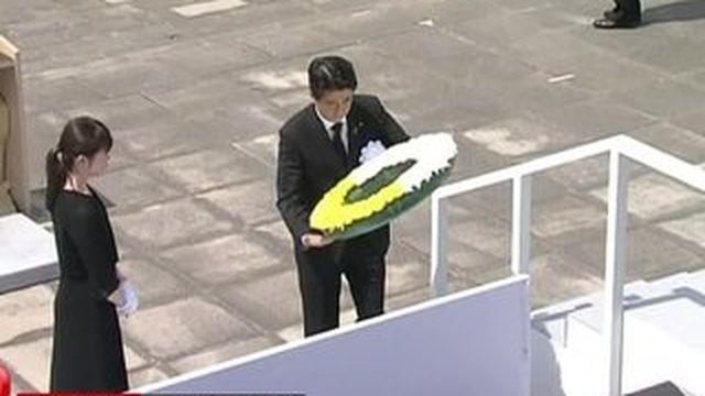 Japon: la ville de Nagasaki rend hommage aux morts de l'attaque atomique