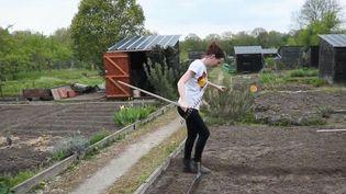 Réussir des massifs de fleurs et entretenir son jardon nécessite du travail. Il existe désormais des coachs spécialisés pour devenir un vrai pro du jardin. (CAPTURE ECRAN FRANCE 2)