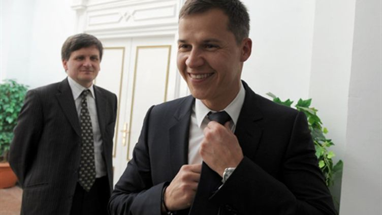 Le 15 février 2011, Boris Boillon, nouvel ambassadeur de France à Tunis. (AFP)