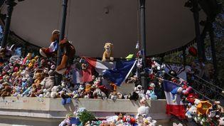 A Nice, le mémorial en hommage aux victimes de l'attentat du 14 juillet (LP/YANN FOREIX / MAXPPP)