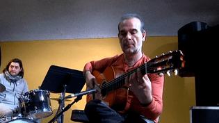 Juan Carmona pendant la répétition  (France3/culturebox)