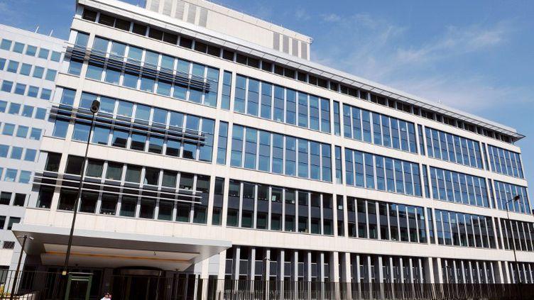 Le siège de la Direction centrale du renseignement intérieur (DCRI) à Levallois-Perret (Hauts-de-Seine). (BERTRAND GUAY / AFP)
